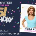 Girls on the Run 25th Birthday Hoda Kotb
